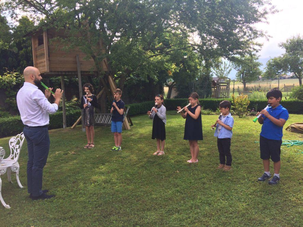 cours de flûte à bec à Genève